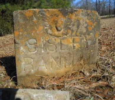 RANDAL, SISLEY - Lincoln County, Louisiana   SISLEY RANDAL - Louisiana Gravestone Photos