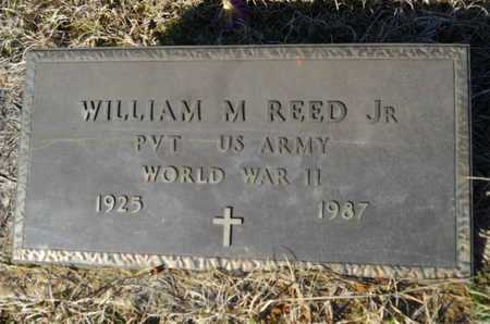 REED, WILLIAM M, JR  (VETERAN WWII) - Lincoln County, Louisiana | WILLIAM M, JR  (VETERAN WWII) REED - Louisiana Gravestone Photos