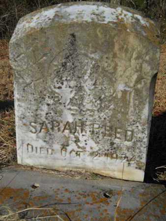 REED, SARAH - Lincoln County, Louisiana   SARAH REED - Louisiana Gravestone Photos