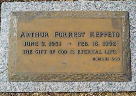REPPETO, ARTHUR FORREST - Lincoln County, Louisiana | ARTHUR FORREST REPPETO - Louisiana Gravestone Photos