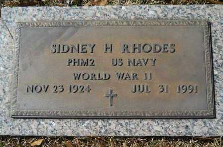 RHODES, SIDNEY H (VETERAN WWII) - Lincoln County, Louisiana | SIDNEY H (VETERAN WWII) RHODES - Louisiana Gravestone Photos