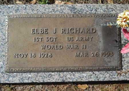 RICHARD, ELBE J (VETERAN WWII) - Lincoln County, Louisiana | ELBE J (VETERAN WWII) RICHARD - Louisiana Gravestone Photos