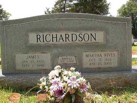 RIVES RICHARDSON, MARTHA - Lincoln County, Louisiana | MARTHA RIVES RICHARDSON - Louisiana Gravestone Photos