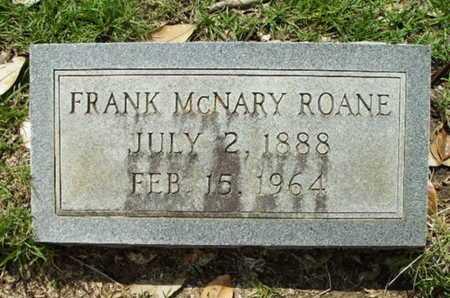 ROANE, FRANK MCNARY - Lincoln County, Louisiana | FRANK MCNARY ROANE - Louisiana Gravestone Photos