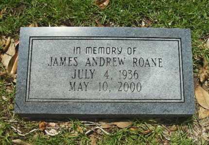 ROANE, JAMES ANDREW - Lincoln County, Louisiana | JAMES ANDREW ROANE - Louisiana Gravestone Photos