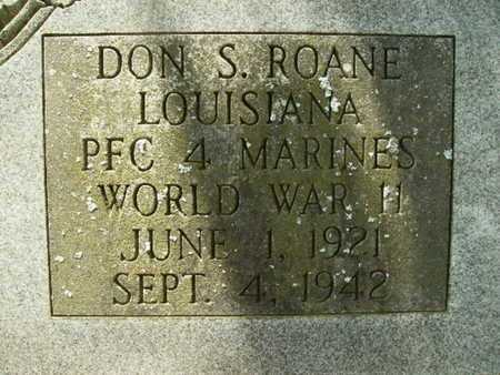 ROANE, DON S (VETERAN WWII) - Lincoln County, Louisiana | DON S (VETERAN WWII) ROANE - Louisiana Gravestone Photos