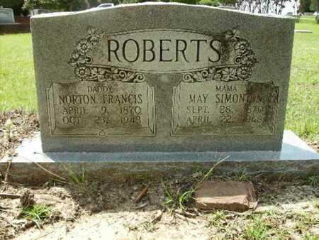 SIMONTON ROBERTS, MAY - Lincoln County, Louisiana | MAY SIMONTON ROBERTS - Louisiana Gravestone Photos