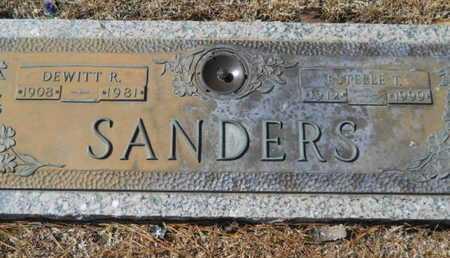 SANDERS, ESTELLE T - Lincoln County, Louisiana | ESTELLE T SANDERS - Louisiana Gravestone Photos