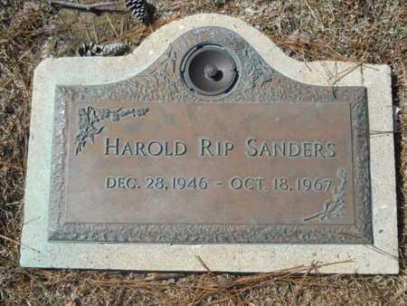 SANDERS, HAROLD RIP - Lincoln County, Louisiana | HAROLD RIP SANDERS - Louisiana Gravestone Photos