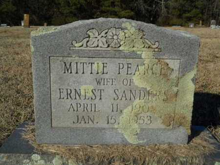 PEARCE SANDERS, MITTIE - Lincoln County, Louisiana | MITTIE PEARCE SANDERS - Louisiana Gravestone Photos