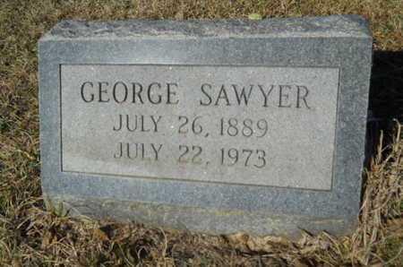 SAWYER, GEORGE - Lincoln County, Louisiana | GEORGE SAWYER - Louisiana Gravestone Photos