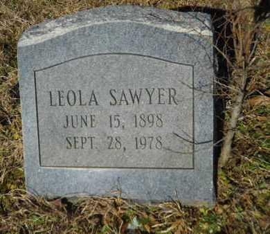 SAWYER, LEOLA - Lincoln County, Louisiana | LEOLA SAWYER - Louisiana Gravestone Photos