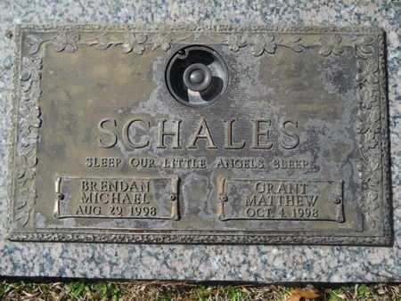 SCHALES, GRANT MATTHEW - Lincoln County, Louisiana | GRANT MATTHEW SCHALES - Louisiana Gravestone Photos