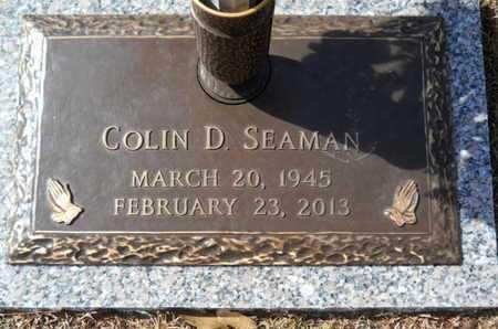 SEAMAN, COLIN D - Lincoln County, Louisiana | COLIN D SEAMAN - Louisiana Gravestone Photos