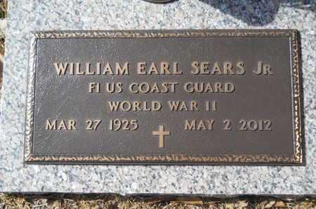SEARS, WILLIAM EARL, JR (VETERAN WWII) - Lincoln County, Louisiana | WILLIAM EARL, JR (VETERAN WWII) SEARS - Louisiana Gravestone Photos