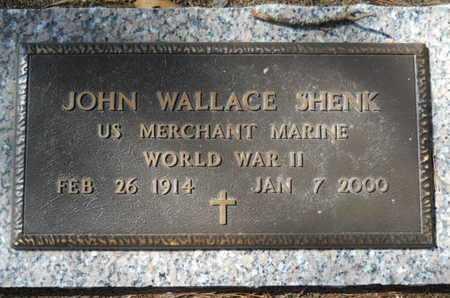SHENK, JOHN WALLACE (VETERAN WWII) - Lincoln County, Louisiana | JOHN WALLACE (VETERAN WWII) SHENK - Louisiana Gravestone Photos