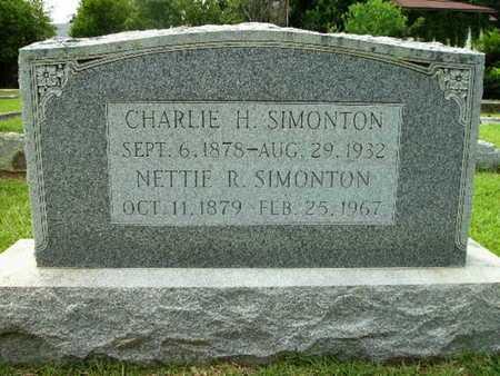 SIMONTON, CHARLIE H - Lincoln County, Louisiana | CHARLIE H SIMONTON - Louisiana Gravestone Photos