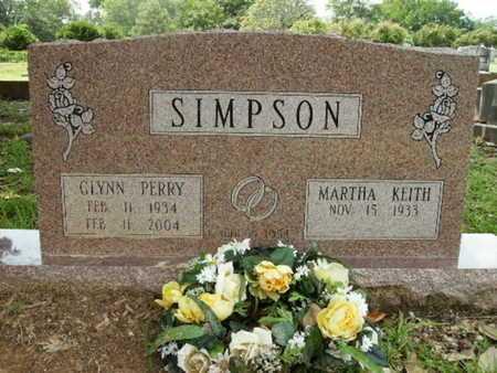 SIMPSON, GLYNN PERRY - Lincoln County, Louisiana | GLYNN PERRY SIMPSON - Louisiana Gravestone Photos