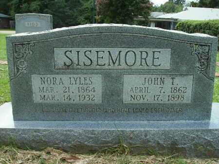 LYLES SISEMORE, NORA - Lincoln County, Louisiana   NORA LYLES SISEMORE - Louisiana Gravestone Photos