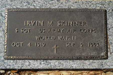 SKINNER, IRVIN M (VETERAN WWII) - Lincoln County, Louisiana | IRVIN M (VETERAN WWII) SKINNER - Louisiana Gravestone Photos