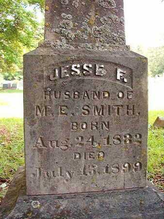 SMITH, JESSE F - Lincoln County, Louisiana | JESSE F SMITH - Louisiana Gravestone Photos