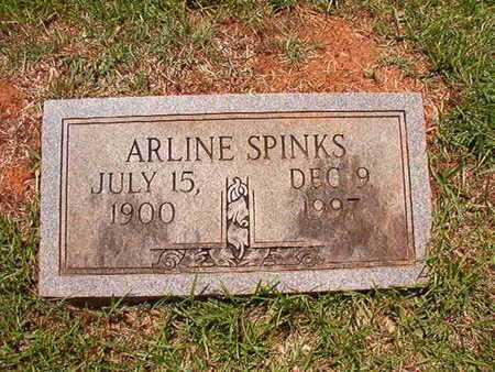 SPINKS, ARLINE - Lincoln County, Louisiana | ARLINE SPINKS - Louisiana Gravestone Photos