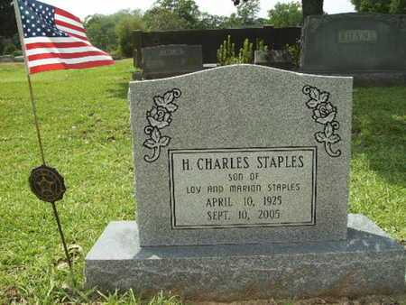 STAPLES, H CHARLES - Lincoln County, Louisiana | H CHARLES STAPLES - Louisiana Gravestone Photos