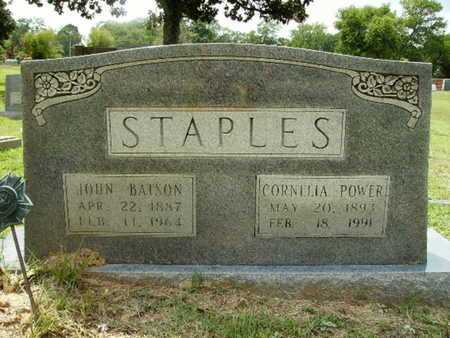 POWER STAPLES, CORNELIA - Lincoln County, Louisiana | CORNELIA POWER STAPLES - Louisiana Gravestone Photos