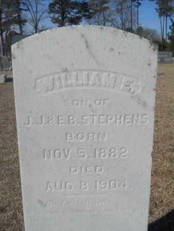 STEPHENS, WILLIAM E - Lincoln County, Louisiana | WILLIAM E STEPHENS - Louisiana Gravestone Photos