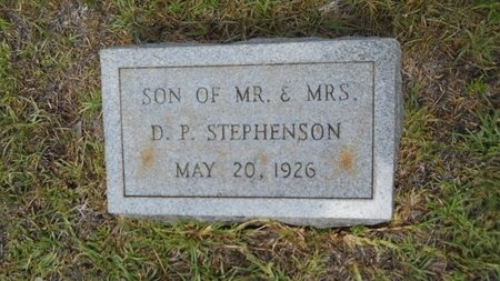 STEPHENSON, INFANT - Lincoln County, Louisiana | INFANT STEPHENSON - Louisiana Gravestone Photos