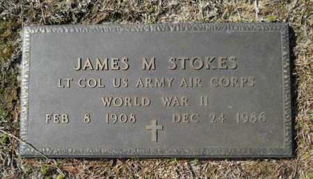STOKES, JAMES M (VETERAN WWII) - Lincoln County, Louisiana   JAMES M (VETERAN WWII) STOKES - Louisiana Gravestone Photos