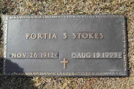 STOKES, PORTIA S - Lincoln County, Louisiana | PORTIA S STOKES - Louisiana Gravestone Photos