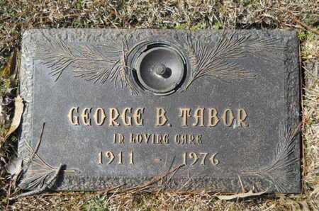 TABOR, GEORGE B - Lincoln County, Louisiana | GEORGE B TABOR - Louisiana Gravestone Photos