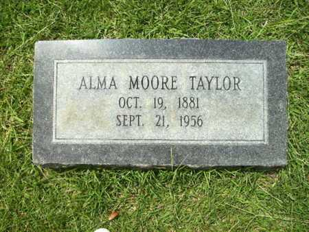 TAYLOR, ALMA - Lincoln County, Louisiana   ALMA TAYLOR - Louisiana Gravestone Photos