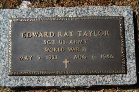 TAYLOR, EDWARD RAY (VETERAN WWII) - Lincoln County, Louisiana | EDWARD RAY (VETERAN WWII) TAYLOR - Louisiana Gravestone Photos