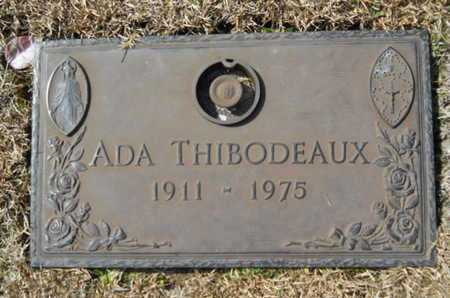 THIBODEAUX, ADA - Lincoln County, Louisiana   ADA THIBODEAUX - Louisiana Gravestone Photos