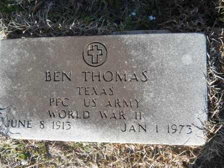 THOMAS, BEN (VETERAN WWII) - Lincoln County, Louisiana | BEN (VETERAN WWII) THOMAS - Louisiana Gravestone Photos