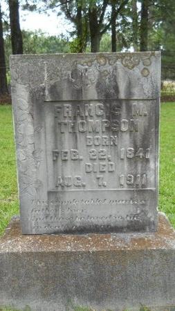 THOMPSON, FRANCIS M - Lincoln County, Louisiana | FRANCIS M THOMPSON - Louisiana Gravestone Photos