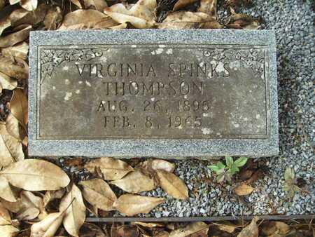 THOMPSON, VIRGINIA - Lincoln County, Louisiana   VIRGINIA THOMPSON - Louisiana Gravestone Photos