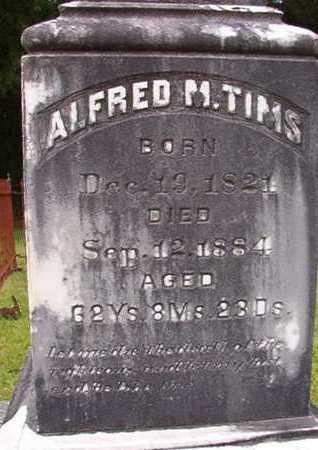 TIMS, ALFRED MONROE - Lincoln County, Louisiana | ALFRED MONROE TIMS - Louisiana Gravestone Photos