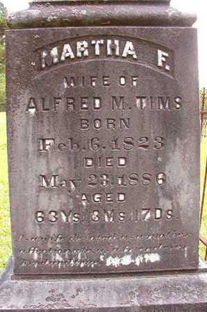 COLVIN TIMS, MARTHA FEASTER - Lincoln County, Louisiana | MARTHA FEASTER COLVIN TIMS - Louisiana Gravestone Photos