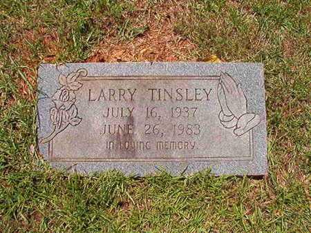 TINSLEY, LARRY - Lincoln County, Louisiana | LARRY TINSLEY - Louisiana Gravestone Photos