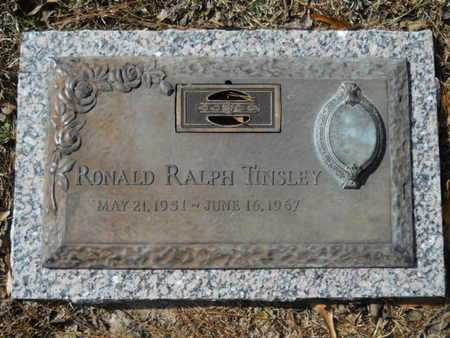 TINSLEY, RONALD RALPH - Lincoln County, Louisiana | RONALD RALPH TINSLEY - Louisiana Gravestone Photos
