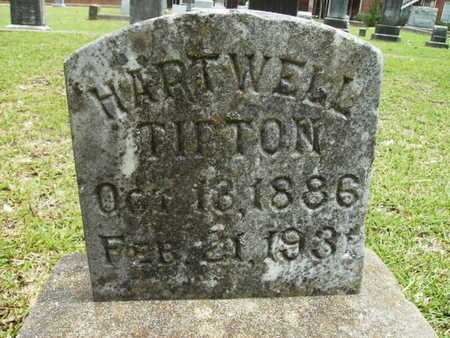 TIPTON, HARTWELL - Lincoln County, Louisiana | HARTWELL TIPTON - Louisiana Gravestone Photos