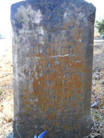 TUCKER, LULA - Lincoln County, Louisiana | LULA TUCKER - Louisiana Gravestone Photos