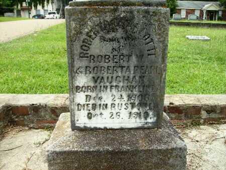 VAUGHAN, ROBERTA CHARLOTTE - Lincoln County, Louisiana | ROBERTA CHARLOTTE VAUGHAN - Louisiana Gravestone Photos
