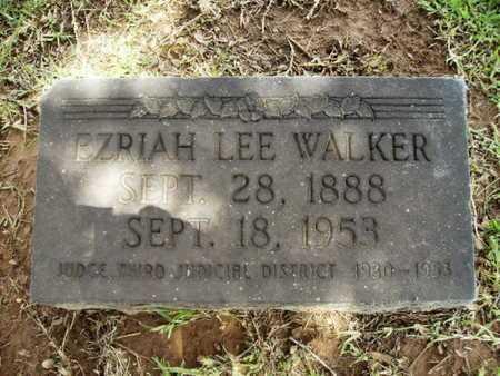 WALKER, EZRIAH LEE - Lincoln County, Louisiana   EZRIAH LEE WALKER - Louisiana Gravestone Photos