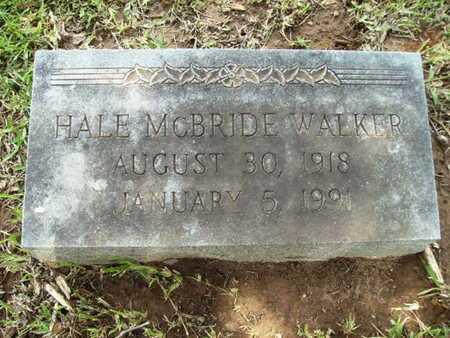 WALKER, HALE MCBRIDE - Lincoln County, Louisiana | HALE MCBRIDE WALKER - Louisiana Gravestone Photos