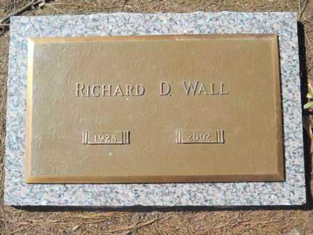 WALL, RICHARD D - Lincoln County, Louisiana   RICHARD D WALL - Louisiana Gravestone Photos