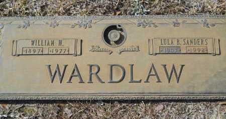 SANDERS WARDLAW, LULA B - Lincoln County, Louisiana | LULA B SANDERS WARDLAW - Louisiana Gravestone Photos
